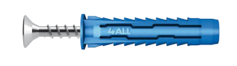 Cheville nylon multifonctions RAWLPLUG 4 all